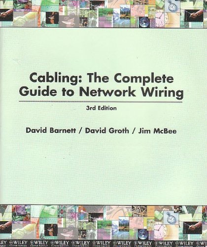 9780470898710: Cabling The Complete Guide to Network Wiring