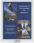 Essentials of Accounting for Business: Paul D. Kimmel,