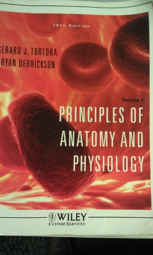 Principles Anatomy Physiology 12th Edition by Gerard J Tortora ...
