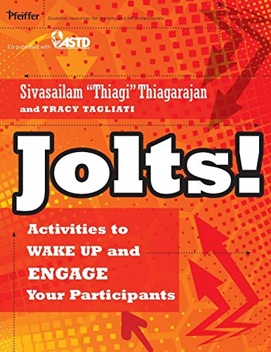 9780470900031: Jolts!: Activities to Wake Up and Engage Your Participants
