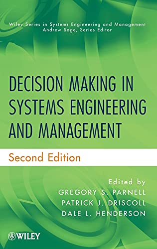 9780470900420: Decision Making in Systems Engineering and Management