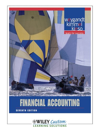 9780470900949: Financial Accounting, Seventh Edition, Wiley Custom Learning Solutions