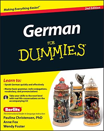 9780470901014: German for Dummies