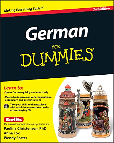 9780470901014: German For Dummies, (with CD)