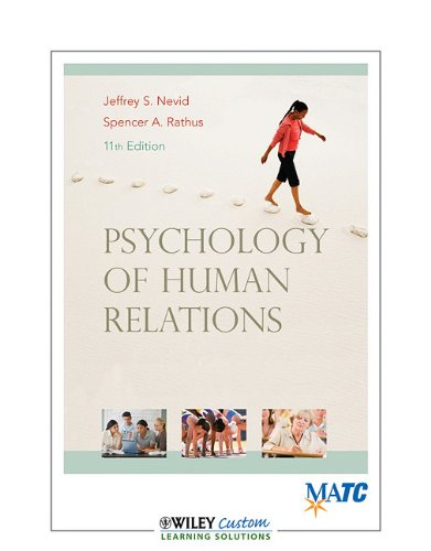 Psychology and the Challenges of Life Adjustment: Nevid, Rathus