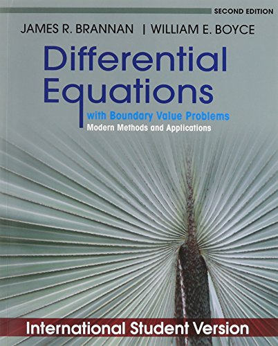 9780470902141: Differential Equations with Boundary Value Problems