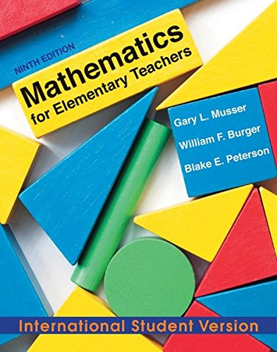9780470903186: Mathematics for Elementary Teachers: A Contemporary Approach