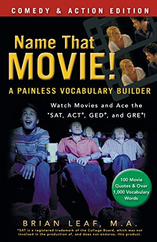 9780470903254: Name That Movie! A Painless Vocabulary Builder Comedy & Action Edition: Watch Movies and Ace the SAT, ACT, GED and GRE!