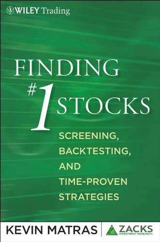 9780470903407: Finding #1 Stocks: Screening, Backtesting and Time-Proven Strategies (Zacks Series)