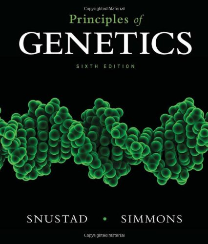 9780470903599: Principles of Genetics