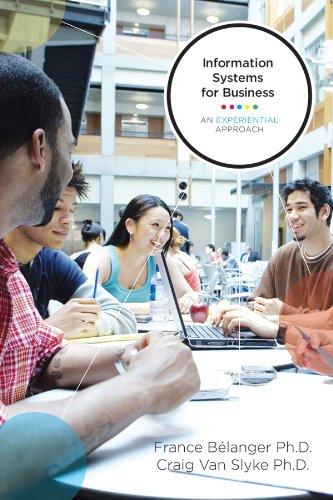 Information Systems for Business: Belanger, France; Van Slyke, Craig