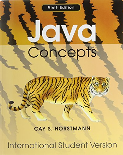 9780470903902: Java Concepts: for Java 7 and 8