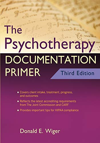 9780470903964: The Psychotherapy Documentation Primer Third Edition