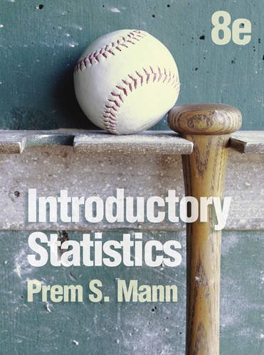 9780470904107: Introductory Statistics 8E