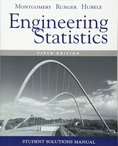 9780470905302: Student Solutions Manual Engineering Statistics, 5e