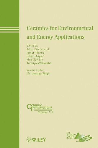 Ceramics for Environmental and Energy Applications: Aldo R. Boccaccini