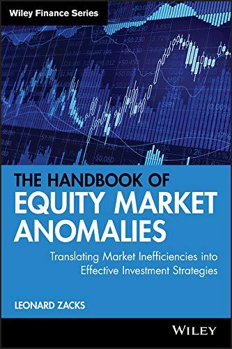 9780470905906: The Handbook of Equity Market Anomalies: Translating Market Inefficiencies into Effective Investment Strategies