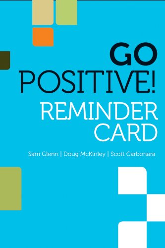 9780470907528: Go Positive! Lead to Engage Reminder Card