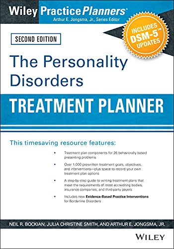 9780470908686: The Personality Disorders Treatment Planner: Includes DSM-5 Updates (PracticePlanners)
