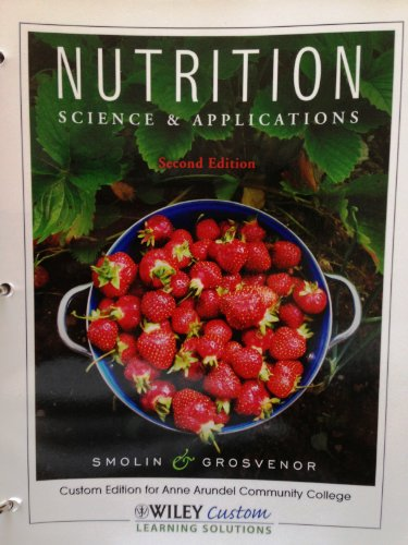 9780470908990: Nutrition: Science & Applications. (Nutrition Binder Ready Version+Wiley Plus for AACC)