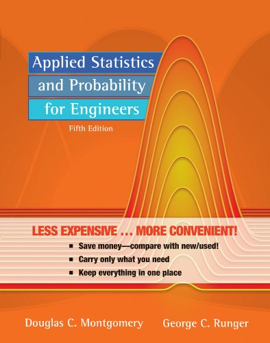 9780470910610: Applied Statistics and Probability for Engineers