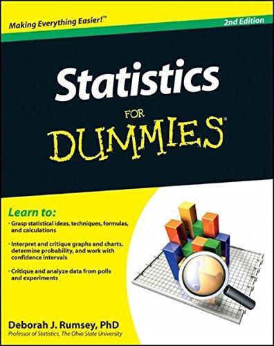 9780470911082: Statistics For Dummies