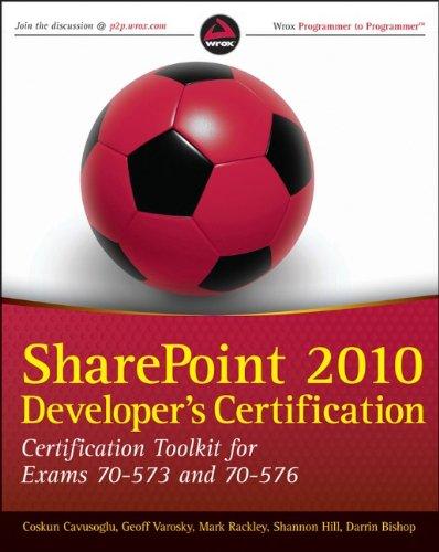 9780470912348: SharePoint 2010 Developer's Certification