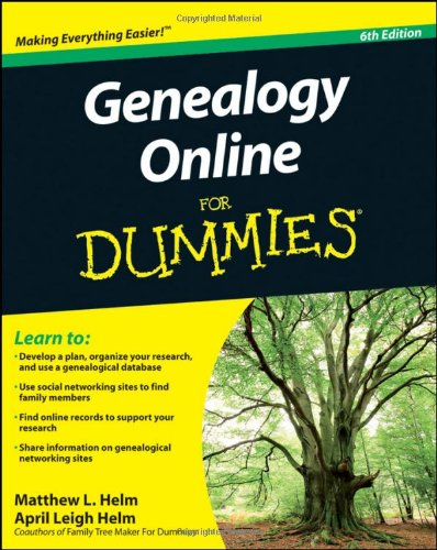 9780470916513: Genealogy Online For Dummies