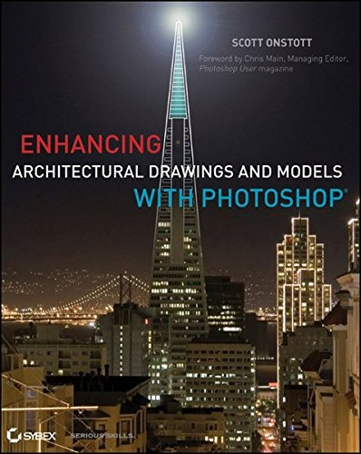 9780470916568: Enhancing Architectural Drawings and Models with Photoshop
