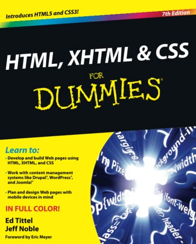 9780470916599: HTML, XHTML & CSS for Dummies