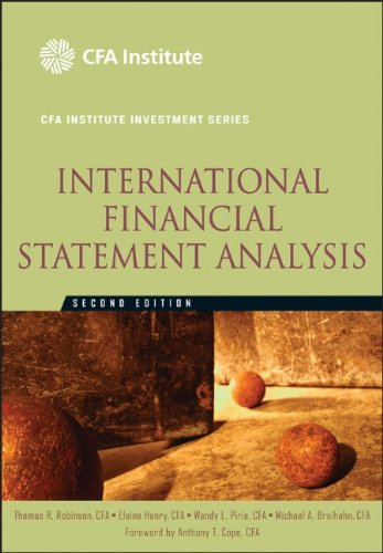 9780470916629: International Financial Statement Analysis