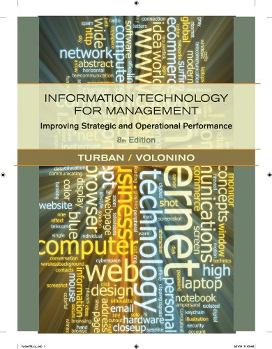 9780470916803: Information Technology for Management: Improving Strategic and Operational Performance