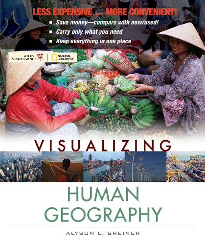 9780470917435: Visualizing Human Geography
