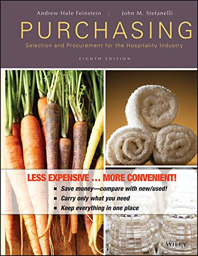 9780470917480: Purchasing: Selection and Procurement for the Hospitality Industry