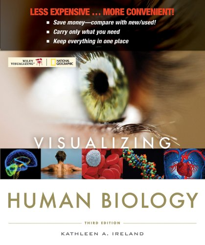 9780470917497: Visualizing Human Biology, Binder Version