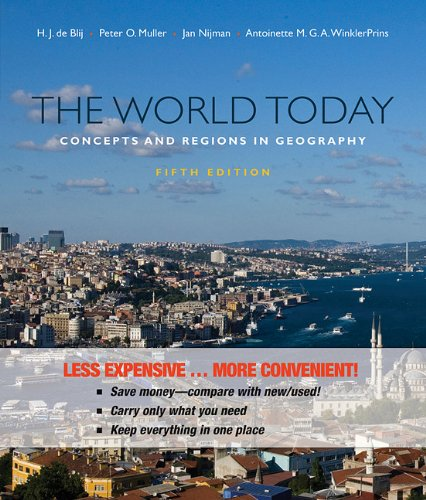 9780470917503: The World Today: Concepts and Regions in Geography