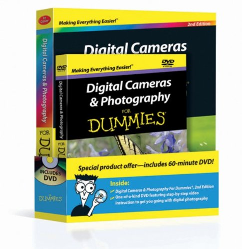 9780470917640: Digital Cameras & Photography For Dummies, Book + DVD Bundle