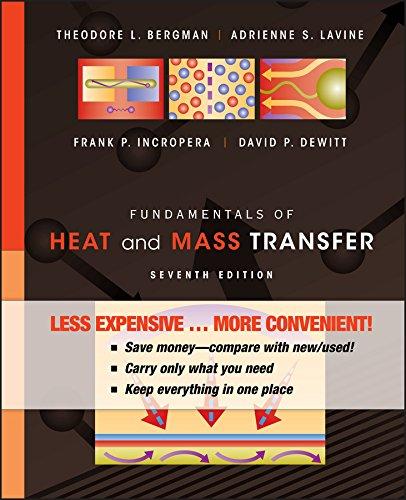Fundamentals of Heat and Mass Transfer: Bergman, Theodore L.;