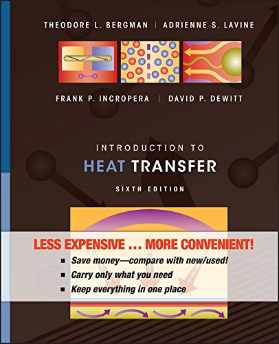9780470917862: Introduction to Heat Transfer