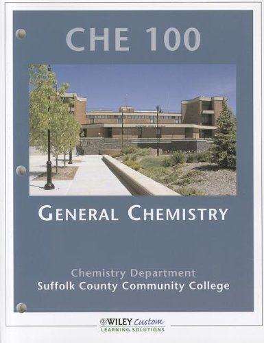 9780470918814: Foundations of Chemistry in the Laboratory 12th Edition CHE 100 General Chemistry Suffolk County Community College 2009