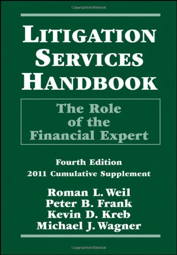 9780470921937: Litigation Services Handbook: The Role of the Financial Expert, 2011 Cumulative Supplement