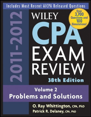 9780470923849: Wiley CPA Examination Review, Problems and Solutions (Wiley CPA Examination Review Vol. 2: Problems & Solutions) (Volume 2)