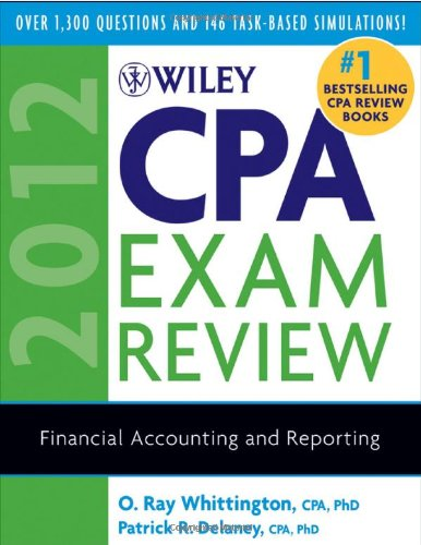 9780470923924: Wiley CPA Exam Review 2012, Financial Accounting and Reporting