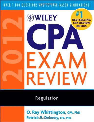 9780470923931: Wiley CPA Exam Review 2012, Regulation