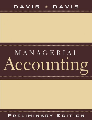 9780470926499: Preliminary Edition to accompany Managerial Accounting for Strategic Decision Making