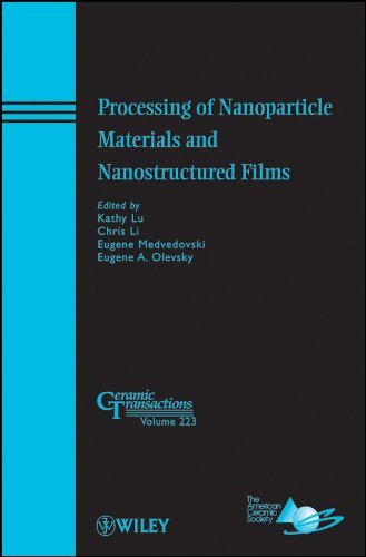 Processing of Nanoparticle Materials and Nanostructured Films: Kathy Lu; Chris