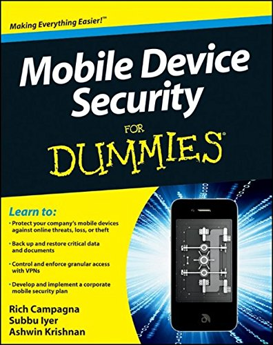 9780470927533: Mobile Device Security For Dummies