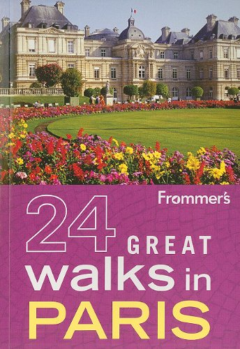 9780470928172: Frommer's 24 Great Walks in Paris