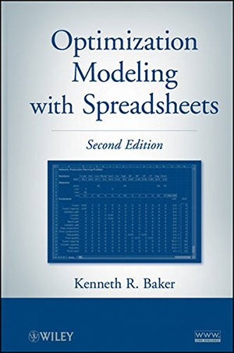 9780470928639: Optimization Modeling with Spreadsheets