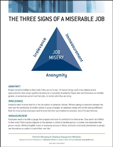 9780470929629: Managing for Employee Engagement: Poster